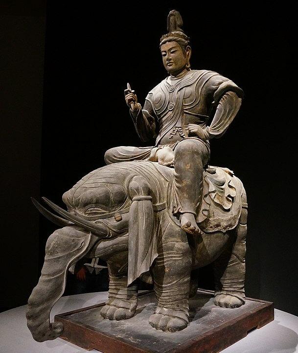 立体曼荼羅 帝釈天騎象像